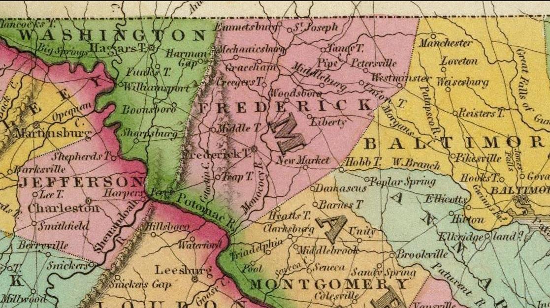 frederick county History Hermann